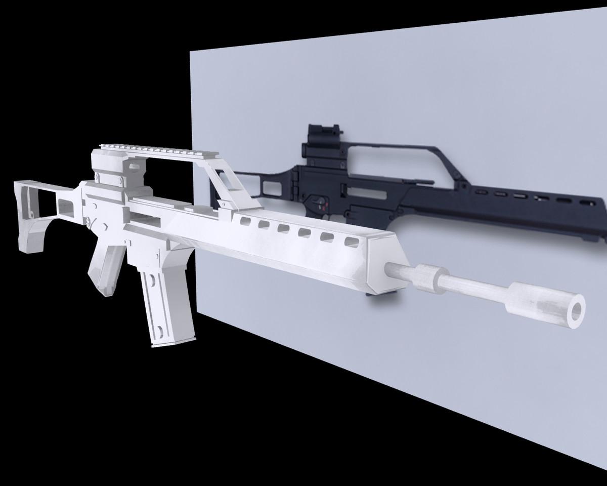 G36 Assault Rifle - Peter Phan Portfolio - The Loop